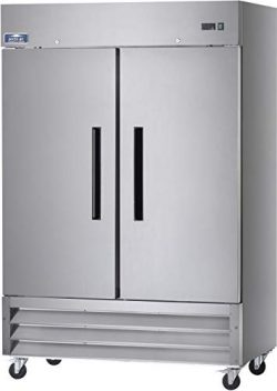 Arctic Air AF49 Two Section Reach-in Commercial Freezer – 49 cu. ft.