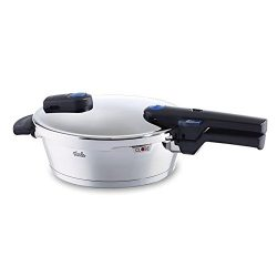 Fissler FSSFIS5853 Pressure Cooker with Lid, 2.5 L, Stainless Steel