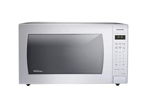 Panasonic NN-SN936W Countertop Microwave with Inverter Technology, 2.2 cu. ft., 1250W, White (Re ...