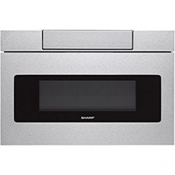 SHARP SMD3070AS Microwave Drawer Oven, 30″, Stainless Steel