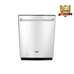 Thor Kitchen HDW2401SS 24″ Built-In Dishwasher, Stainless Steel Kitchen Appliance Smart Wa ...