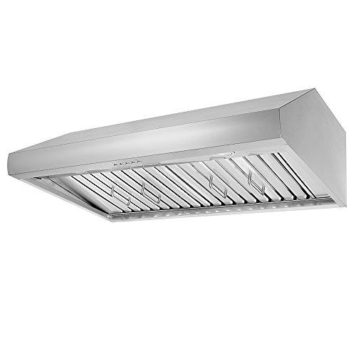Thor Kitchen 48″ Under Cabinet Range Hood 900CFM 3-Speed Stainless Steel With 3 Light Blub ...