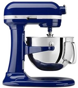 KitchenAid Professional 600 Stand Mixer 6 quart, Blue Willow (Renewed)