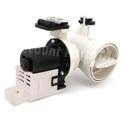 W10130913 Washer Drain Pump Motor Assembly Replacement for Whirlpool Kenmore Maytag Washer W1073 ...
