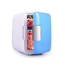 Mini Fridge, Car Fridge Portable Compact Refrigerator Electric Cooler & Warmer(4 Liter / 7  ...