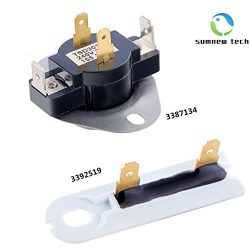 3387134 & 3392519 – Cycling Thermostat & Thermal Fuse Replacement For Whirlpool &a ...