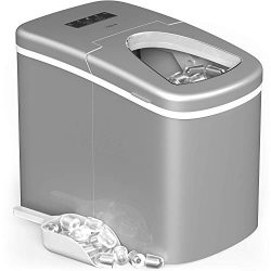 hOmeLabs Portable Ice Maker Machine for Countertop – Makes 26 lbs of Ice per 24 hours R ...