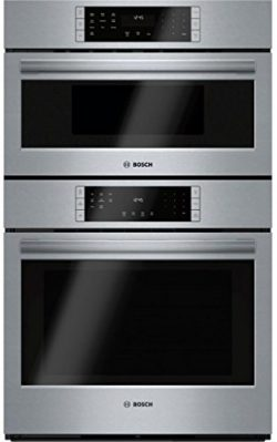 Bosch S800 Combination Wall Oven/Speed Oven, Touch Control (HBL8752UC)