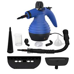 Comforday Steam Multi Purpose Handheld Cleaners High Pressure Steamer with 9-Piece Accessories,  ...