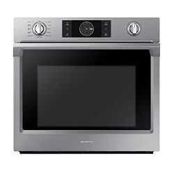 Samsung Appliance NV51K7770SS 30″ 5.1 cu. ft. Total Capacity Electric Single Wall Oven wit ...