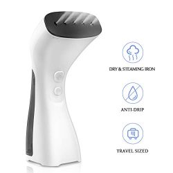 SUPALAK Handheld Steamer for Clothes, Travel Garment Steamer for Clothing Dry & Steam Iron 3 ...