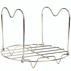 Steamer Rack Trivet with Handles Compatible for Instant Pot 6 & 8 qt Accessories – Gre ...