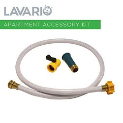Lavario Portable Clothes Washer (Apartment Accessory Kit) 1 x Faucet Connector, 1 x 4 ft Hose, a ...