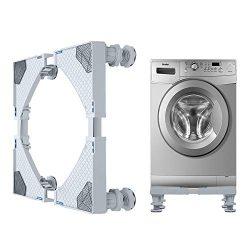 JY Hong Cheng Washing Machine Base Multi-functional Heavy Duty 4 Strong Feet Adjustable Base for ...