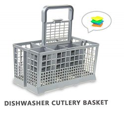 Yours Universal Dishwasher Cutlery Basket fits Kenmore, Whirlpool, Bosch, Maytag, KitchenAid, Ma ...