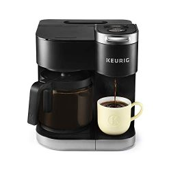 Keurig K-Duo Coffee Maker, Single Serve and 12-Cup Drip Coffee Brewer, Compatible with K-Cup Pod ...