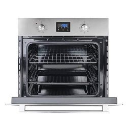 Wall Oven, Gasland chef ES609DS 24″ Built-in Single Wall Oven, 9 Cooking Function, Stainle ...
