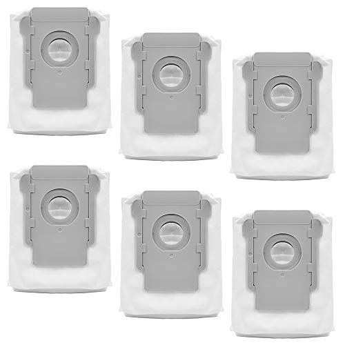 KEEPOW Dirt Disposal Replacement Bags for iRobot Roomba i7 i7+ s9+ Clean Base, 6 Pack