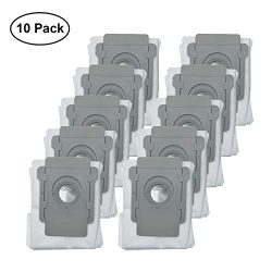 Lemige 10 Packs Vacuum Bags Compatible with iRobot Roomba i7 i7+/Plus s9+ (9550) Clean Base Auto ...