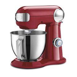 Cuisinart SM-35R Precision Master 3.5 Quart (Ruby Red) stand mixer,