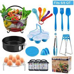 Instant Pot Accessories Set, LOUTAN Pressure Cooker Accessories Compatible with Instant Pot 6 8  ...