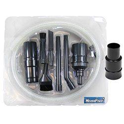 MaximalPower Mini/Micro Vacuum Attachment Tools Cleaning & Detailing kit 7 Attachment Tools  ...