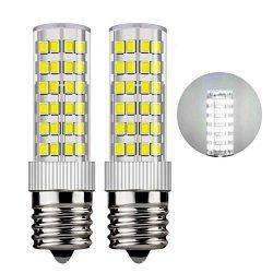 IAlight e17 led Bulb Microwave Oven Light dimmable 6Watt Appliance Bulb, 580lm, 60W Halogen Equi ...