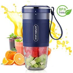 Portable Blender Mini Personal Blender, Godmorn Juicer Smoothie Blender Smoothie Maker Cordless  ...