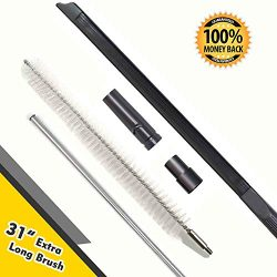 Dryer Vent Cleaning Kits (5 Pack), Crevice cleaner tool, 24 Inch Vacuum Hose Attachment, 31 Inch ...