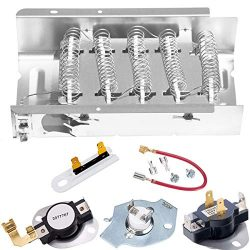 Dryer Heating Element 279838, Dryer Heating Element Parts 3392519 Thermal Fuse 3977767 Thermosta ...