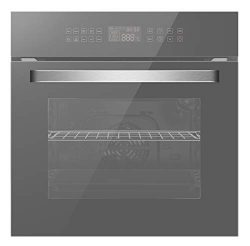 Empava 24″ Electric Single Wall Ovens Convection Fan 10 Cooking Functions Deluxe 360° ROTI ...