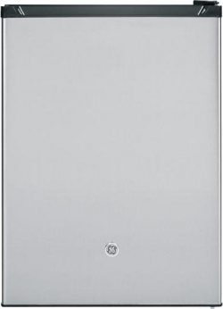 GE GCE06GSHSB Spacemaker 5.6 Cu. Ft. Compact Refrigerator, Stainless Steel, Reversible Door