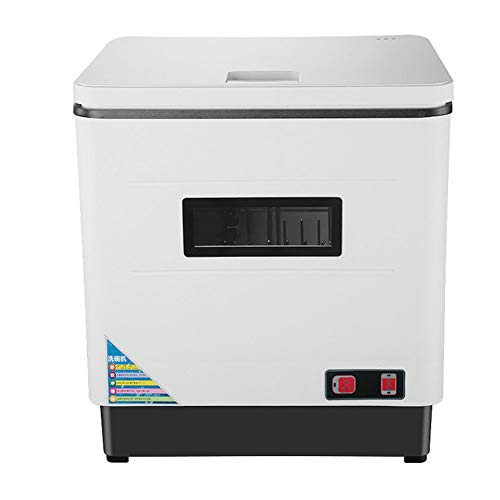 Automatic Compact Countertop Dishwasher, 12L Portable Mini Dish Washer for Small Apartment, Rest ...