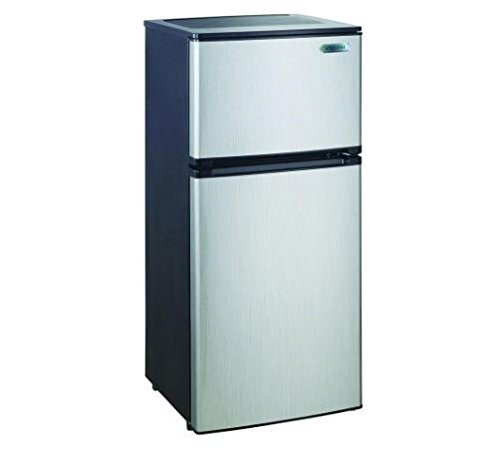 Magic Chef 4.3 cu. ft. Mini Refrigerator in Stainless Steel by