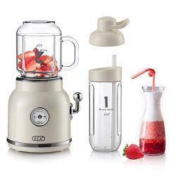 Personal Blender for Shakes and Smoothies, ECX Portable Blender with 6 Sharp Blades, Smoothie Bl ...