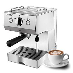Espresso Machine Coffee Machine with 15 bar Pump Powerful Pressure Coffee Brewer, Coffee maker w ...