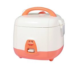 Cuckoo CR-0331 Rice Cooker, 3 Cups Uncooked (1.5 Liters / 1.6 Quarts), Orange