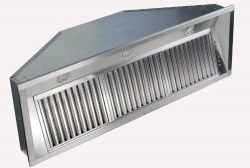 ZLINE 46 in. 1200 CFM Range Hood Insert in Stainless Steel (698-46)