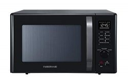 Farberware Black FMO10AHDBKC 1.0 Cu. Ft. 1000-Watt Microwave Oven with Healthy Air Fry, Grill/Co ...