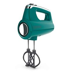 BLACK+DECKER MX600T Helix Performance Premium 5-Speed Hand Mixer, Teal