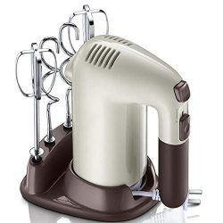 Gaone Hand Mixer Electric Whisk Hand Blender5 Speed Settings with Turbo Handheld Kitchen Mixer  ...