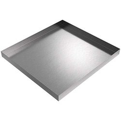 32 x 30 x 2.5 Stainless Washing Machine Drip Pan