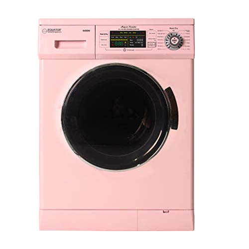 Equator 2019 24″ Combo Washer Dryer Winterize+Quiet (Pink)
