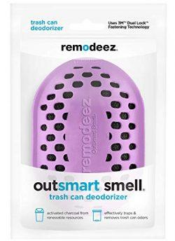 remodeez Trash Can Diaper Pail Recycling Bin Deodorizer Eliminator Odor Absorber-Nontoxic Coconu ...