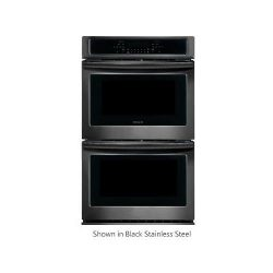 Frigidaire FFET3026TB 30 Inch 4.6 cu. ft. Total Capacity Electric Double Wall Oven with 4 Oven R ...