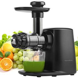 Juicer Machines, Vestaware Masticating Juicer Extractor with 5 Adjustable Modes/Reverse Function ...