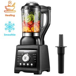 AICOOK Blender for Cooking and Smoothies, Professional Blender Including 60 oz Quality Glass Jar ...
