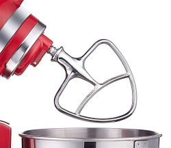 Burnished Stainless Flat Beater for KitchenAid 4.5-5 Qt. Tilt-Head Stand Mixers Accessory Dishwa ...
