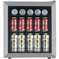 KUPPET 62-Can Beverage Cooler and Refrigerator, Small Mini Fridge for Home, Office or Bar with G ...