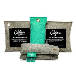 Bamboo Charcoal Air Purifying Bag (5 Pack) Bundle, Natural Air Fresheners & Odor Eliminators ...